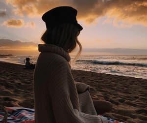 alternative, beach, and beauty image