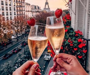 paris, drink, and france image
