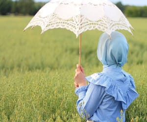 allah, blue, and girl image
