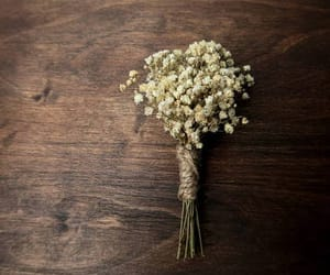 etsy, rustic wedding, and natural flowers image