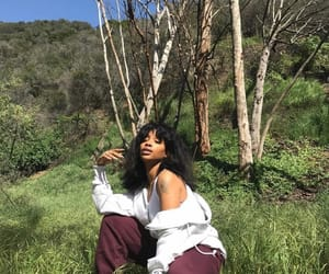 black girl and sza image