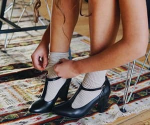 fashion, mode, and shoes image