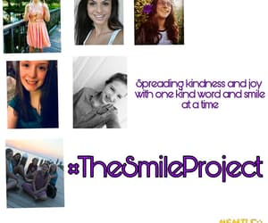 joy, kindness, and thesmileproject image