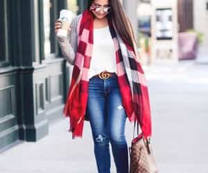 scarf look image