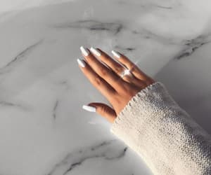 nail inspo, nail goals, and glam+glamour+luxury image