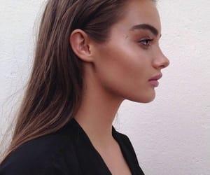 beauty, girl, and glow image