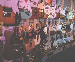 music, guitar, and grunge image