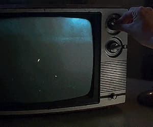 fire, gif, and tv image