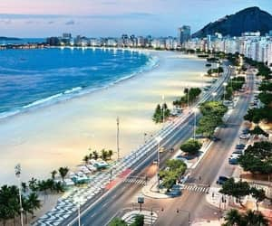 rio de janeiro, beach, and brazil image