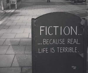 fiction, quotes, and book image