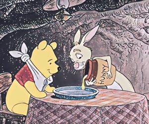 winnie the pooh, disney, and rabbit image