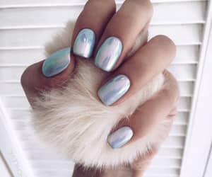 nails, manicure, and beautiful image