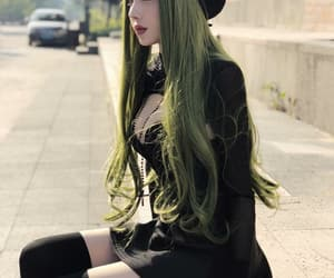 aesthetic, style, and asian girl image