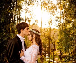 casamento, countryside, and couple image