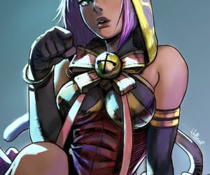 street fighter and menat image