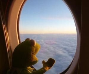 airplane and kermit image
