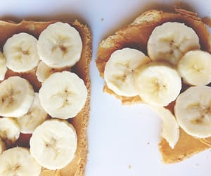 banana, bread, and toast image