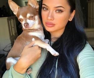 beautiful, make up, and dog dogs image