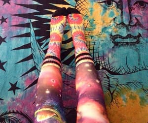 fashion, galaxy, and hippie image