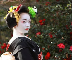 january, maiko, and makeup image