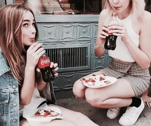 coca cola, theme, and girls image