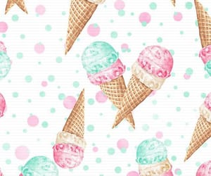 background, colors, and ice cream image