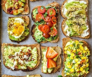 avocado, food, and breakfast image