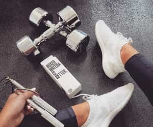 fitness, gym, and nike image