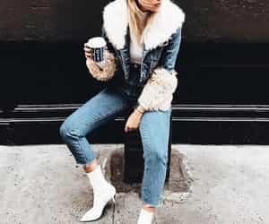 denim, fashion, and street style image