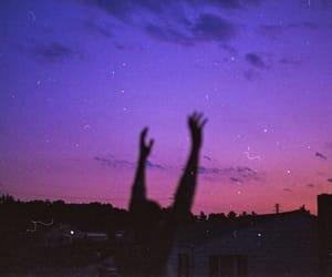 sky, grunge, and indie image