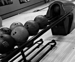 black, bowling, and lucky day image