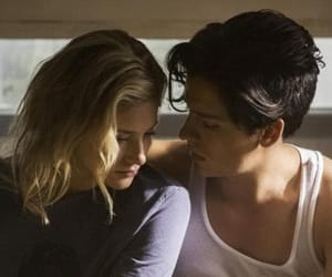 couple, cole sprouse, and embrace image
