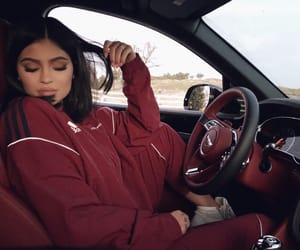 kylie jenner, red, and kylie image