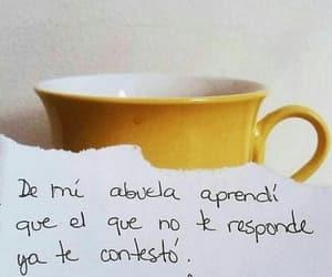 vida, frases español, and actitud image