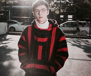 miles heizer, 13 reasons why, and alex standall image