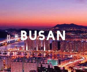 korea, pretty, and busan image