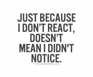 quotes, notice, and react image