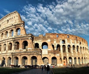 cities, city, and colosseo image
