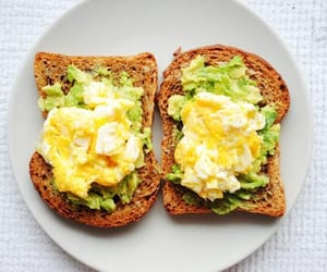 food, avocado, and sandwich image