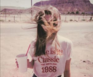 girl, vintage, and aesthetic image