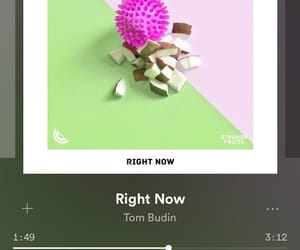 spotify, ineedyou, and rightnow image