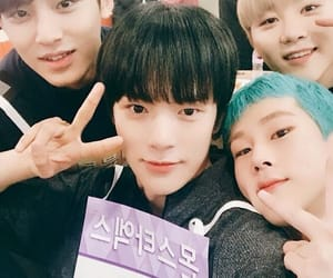 monsta x, Seventeen, and jooheon image