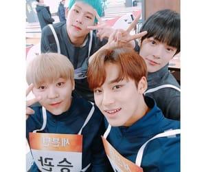 Seventeen, minhyuk, and jooheon image