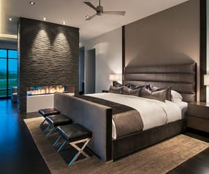 luxury, bedroom, and house image