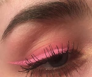 eyes and pink image