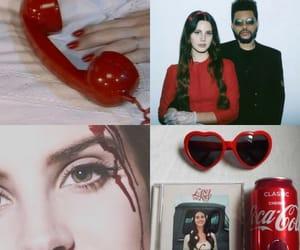 album, red, and serial killer image