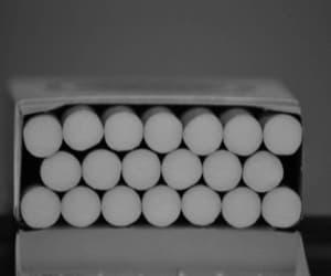 cigarette, smoke, and gif image
