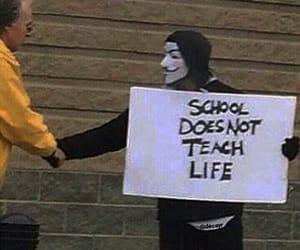 life, grunge, and school image