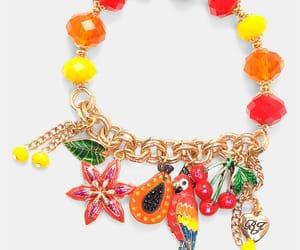 betsey johnson, diamonds, and fruit image