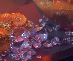 diamond, gold, and orange image